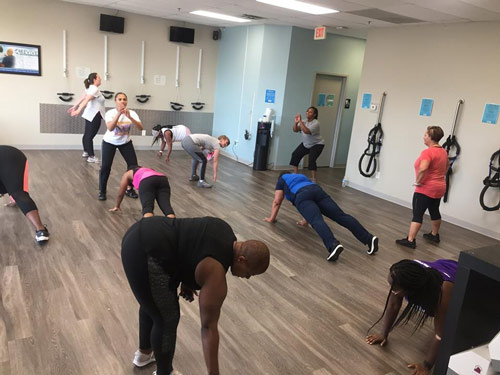 onsite functional fitness training at Revive Chiropractic Centers Lexington KY.